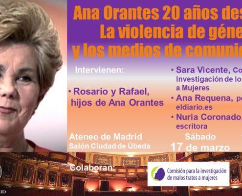 Ana Orantes - 20 años después