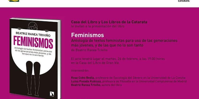 Libro Feminismos
