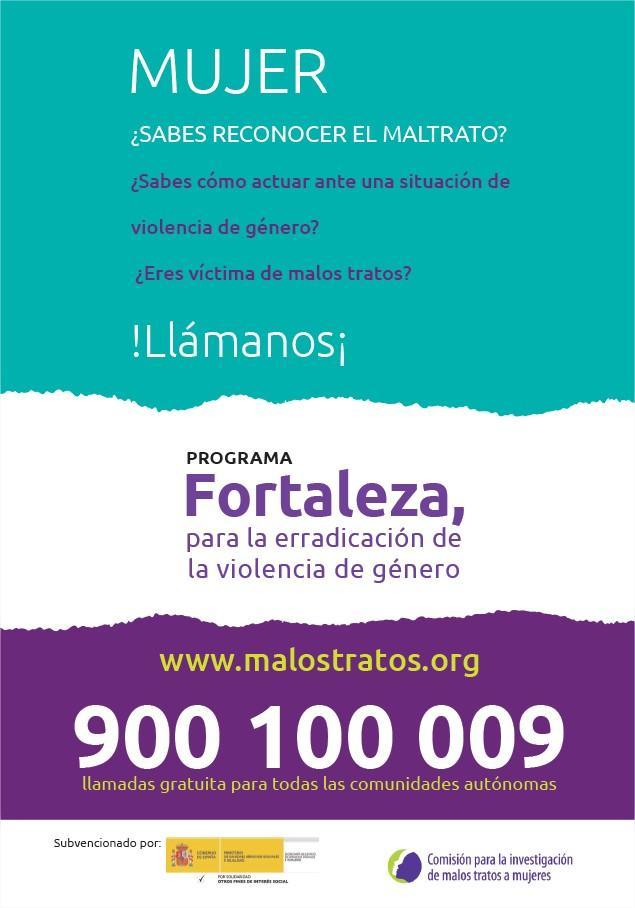 Programa Fortaleza para erradicar la violencia de género