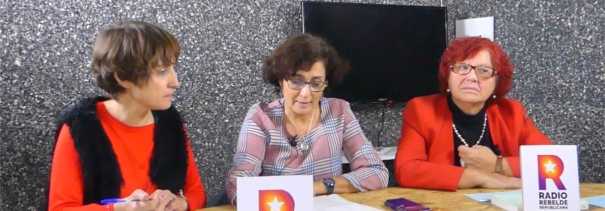 Sara Vicente en el programa de radio