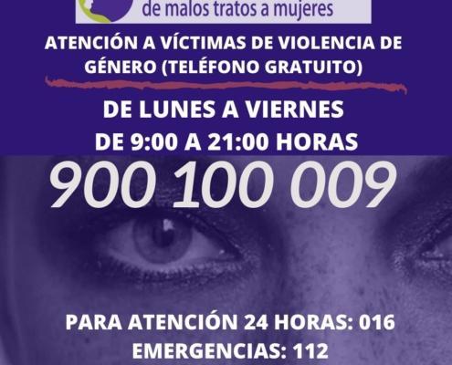Teléfono 900 100 009