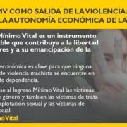 IMV para víctimas de violencia machista. Fuente: Gobierno de España