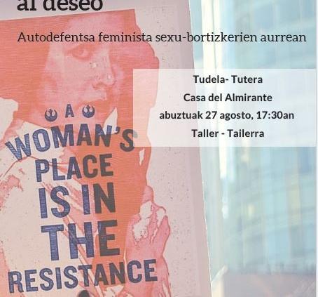 Taller de autodefensa feminista Tudela