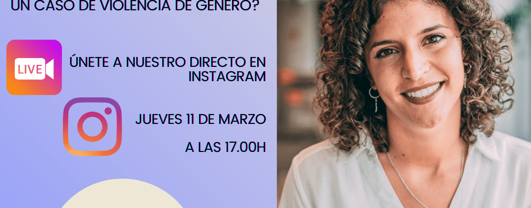 Cartel promoción directo en Instagram
