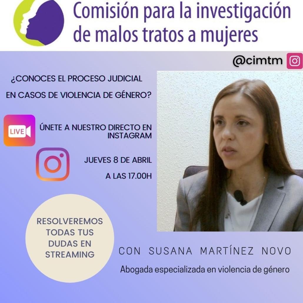 Directo en instagram comision malos tratos