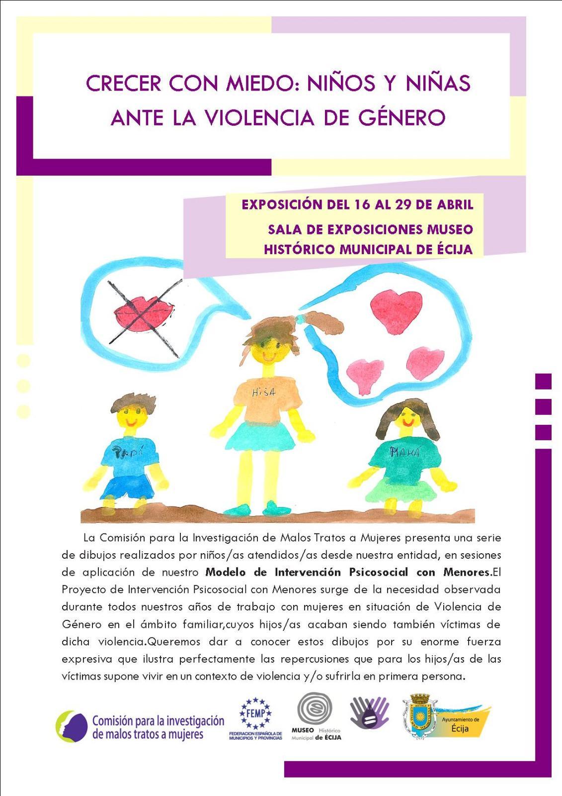 cartel exposición en Écija