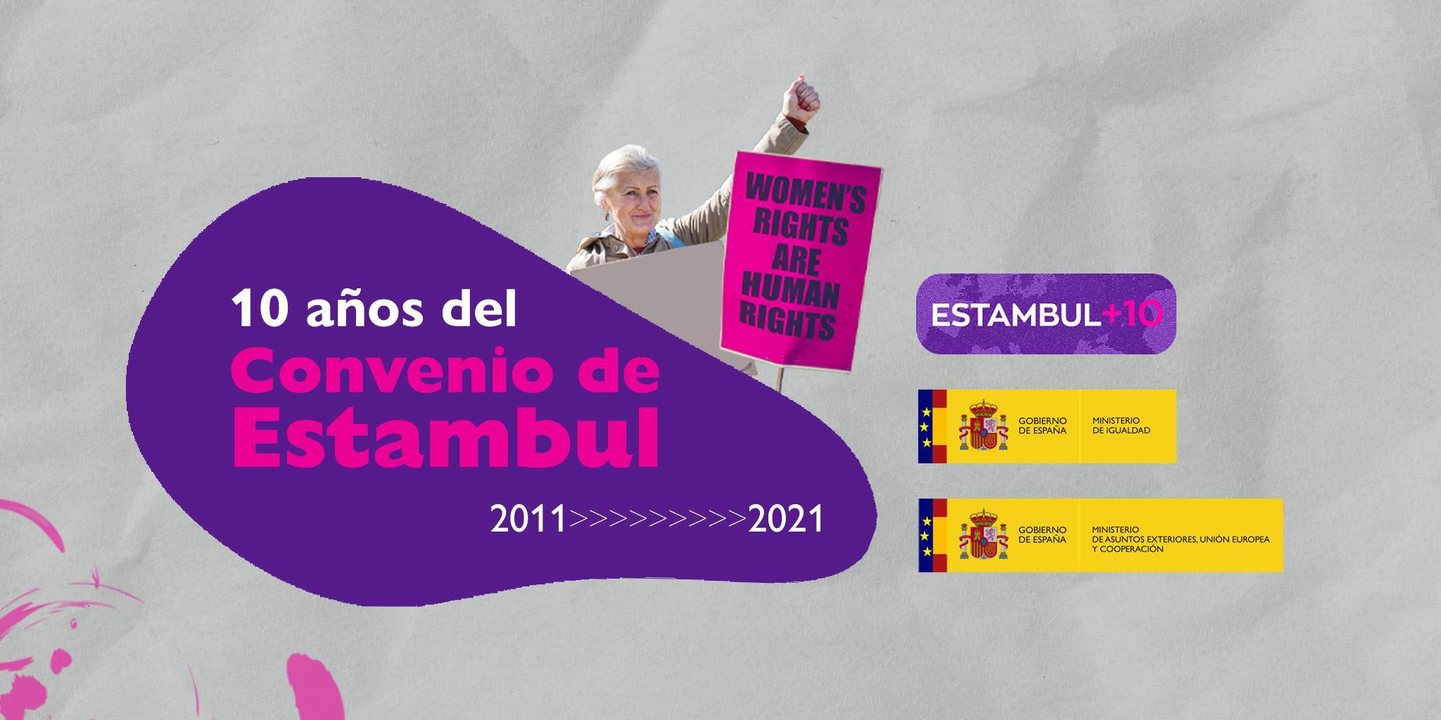 Cartel Convenio de Estambul